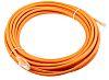 RS PRO Orange Cat6 Cable UTP LSZH Male RJ45/Male RJ45, Terminated, 10m