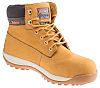 RS PRO Honey Steel Toe Capped Mens Safety Boots, UK 10, EU 44