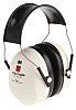3M PELTOR Ear Defender with Headband, 31dB, White