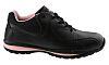 Zapatos de seguridad para mujer Dickies de color Negro/rosa, talla 42, SB SRA