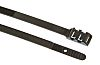 HellermannTyton Black Cable Tie PA 11, 355mm x