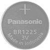 Panasonic BR1225 Button Battery, 3V, 12.5mm Diameter