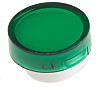 Green Round Push Button Lens for use with