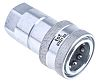 RS PRO Steel Female Hydraulic Quick Connect Coupling