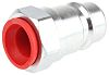 RS PRO Steel Male Hydraulic Quick Connect Coupling