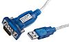 RS PRO 1.83m Male, USB to 9-Pin (Serial),