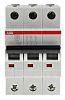 Mini megszakító (MCB) 3-pólusú, 63A, megszakítási teljesítmény: 6 kA, megszakítási karakterisztika: C típusú