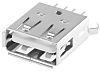 Wurth Elektronik, WR-COM USB Connector, Through Hole, Socket