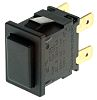 Arcolectric Double Pole Double Throw (DPDT) Latching Miniature Push Button Switch, IP65, 12.9 x 19.8mm, Panel Mount