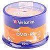 Verbatim Blank DVD 4.7 GB 16X DVD-R, 50