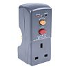 Masterplug RCD Plug Adapter 2 Pole ,Rated At