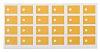 Thermal Interface Pad, Hi-Flow 650P, 1.5W/m·K 0.001in, Self-Adhesive