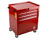 RS PRO 3 drawer Steel WheeledTool Chest, 830mm