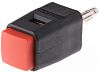 Schutzinger Red Male Banana Plug, 30 V ac,