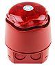 Hangos jeladó - jelzőkészülék kombináció Elektronikus, fényhatás: Villogó, szín: Vörös Xenon, Banshee Excel Lite sorozat