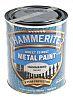 Hammerite Anti-Corrosion Hammered Silver Paint, 750ml Tin