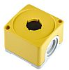 Yellow Plastic ABB Compact Push Button Enclosure -
