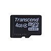 Tarjeta Micro SD MicroSDHC Transcend 4 GB