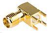 Molex 50Ω Right Angle PCB Mount SMA Connector,