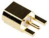 Molex 50Ω Straight Edge Mount MMCX Connector, jack