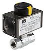 RS PRO Ball Pneumatic Valve, 3/8 in BSP