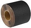 RS PRO Black Polyethylene 18.3m Hazard Tape, 0.05mm Thickness