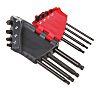 Facom 8 Piece L Shape Torx Key Set T10, T15, T20, T25, T27, T30, T40, T45