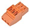 Weidmuller BL Non-Fused Terminal Block, 3 Way/Pole, Screw