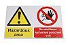 RS PRO Hazardous Area No Admittance - Authorised