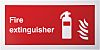 RS PRO Plastic Fire Safety Sign, Fire Extinguisher