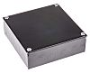 RS PRO Black Enamel Black Enamel Adaptable Box,