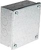 RS PRO Steel Galvanised Adaptable Box, 5 Knockouts