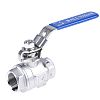 RS PRO Stainless Steel High Pressure Ball Valve