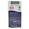 Mean Well WDR Switch Mode DIN Rail Panel Mount Power Supply with Overvoltage and Short Circuit Protection 180 →