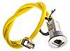 Harting Cat6 RJ45 Plug/RJ45 Socket Coupler, 1 Port,