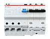ABB RCBO - 3P, 30mA Trip Sensitivity, DS203