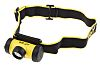 Linterna frontal frontal LED, Wolf Safety HT-400 Negro, 50 lm, 2.5 m de alcance, ATEX, IECEx