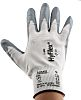Ansell Hyflex, Grey Nitrile Coated Work Gloves, Size 9
