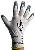 Ansell Hyflex, Grey Nitrile Coated Work Gloves, Size 8