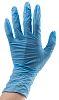 BM Polyco Blue Nitrile Disposable Gloves size 6.5