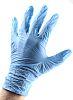 BM Polyco Blue Nitrile Disposable Gloves size 9.5