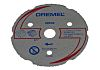 Dremel Silicon Carbide Cutting Disc, 1 in pack