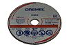 Dremel Aluminium Oxide Cutting Disc, 2 in pack