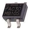 ON Semiconductor MB10S, Bridge Rectifier, 800mA 1000V, 4-Pin