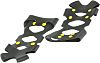 XL Black Thermoplastic Pull-On Ice Traction Grippers