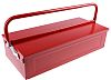 RS PRO Barn Style Metal Tool Box, 450 x 215 x 130mm