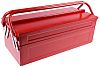 RS PRO Metal Tool Box, 450 x 200 x 202mm