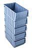 RS PRO PP Storage Bin Storage Bin, 400mm