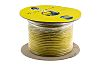 RS PRO 3 Core 1.5 mm² Power Cable, Yellow Polyvinyl Chloride PVC Sheath 100m, 300 V, 500 V, Arctic Grade 3183A