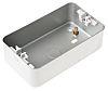 Deta Metalclad Silver Matt Metal Clad Back Box,